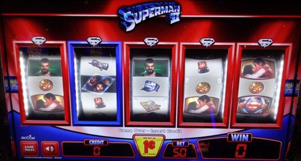 Superman´s Slot Machine