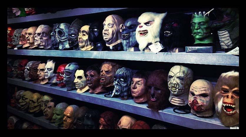 Mascaras cine de terror