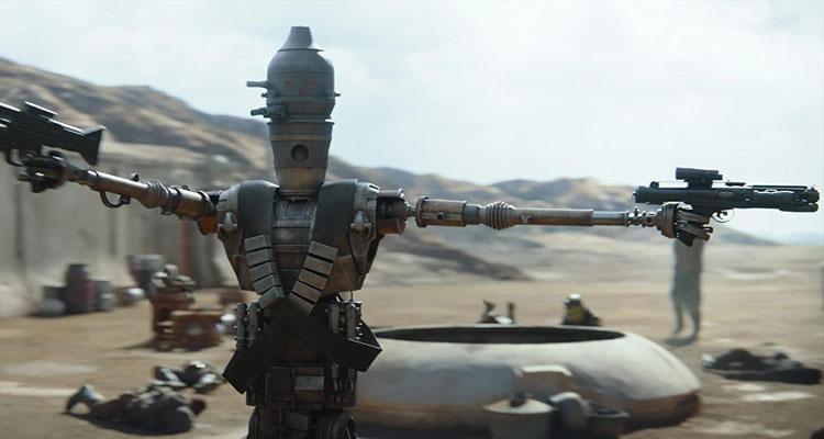 Robot Zero de The Mandalorian (El Mandaloriano)