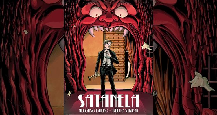 Satanela, cómic de terror Grafito Editorial
