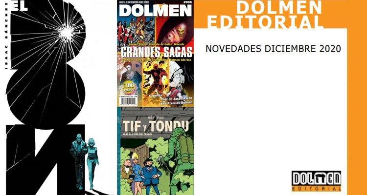 Novedades Dolmen Editorial Diciembre 2020
