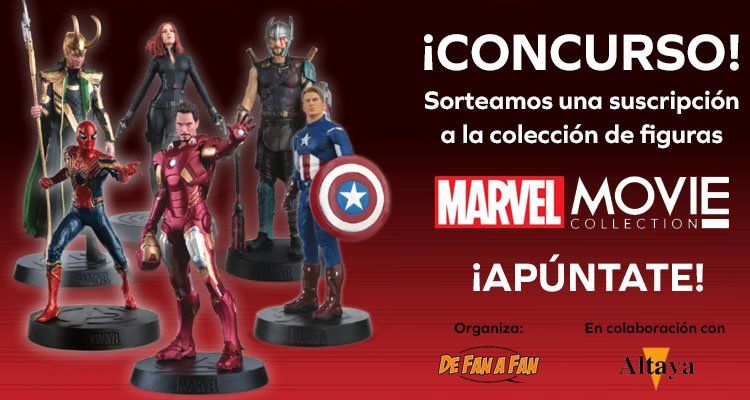 Cartel Concurso Marvel Movie Collection