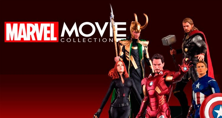 Presentación Marvel Movie Collection
