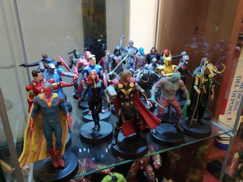 Imagen figuras colección Marvel Movie Collection