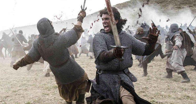 Detalle de la batalla de El Cid, la serie de Prime Video