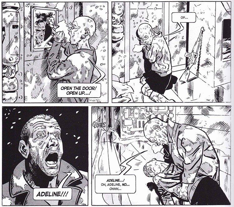 Viñetas cómic Rompenieves (Snowpiercer)