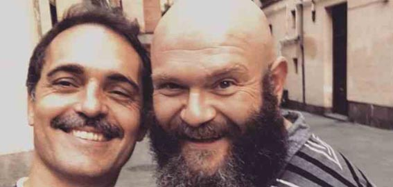 Pedro Alonso e Darko Peric