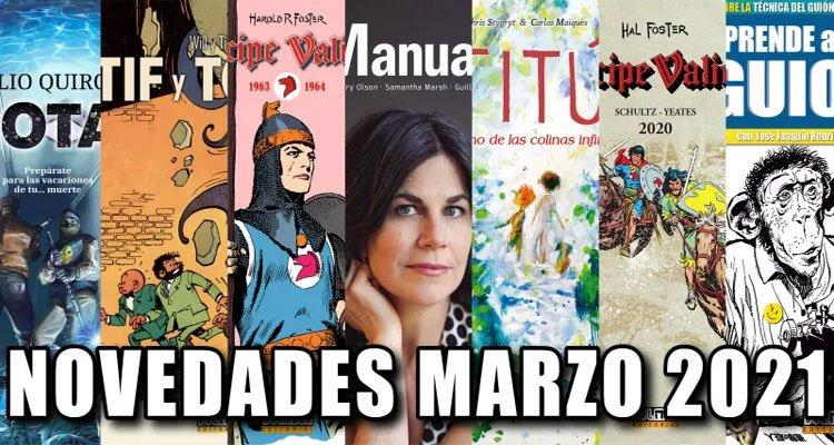 Dolmen Editorial: Novedades Marzo 2021