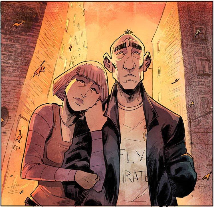 Edu y Patri del cómic El Don