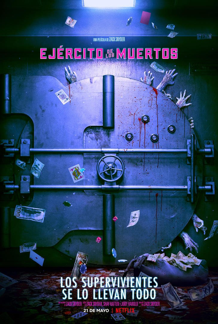 Poster Ejercito de los Muertos Snyder / Netflix
