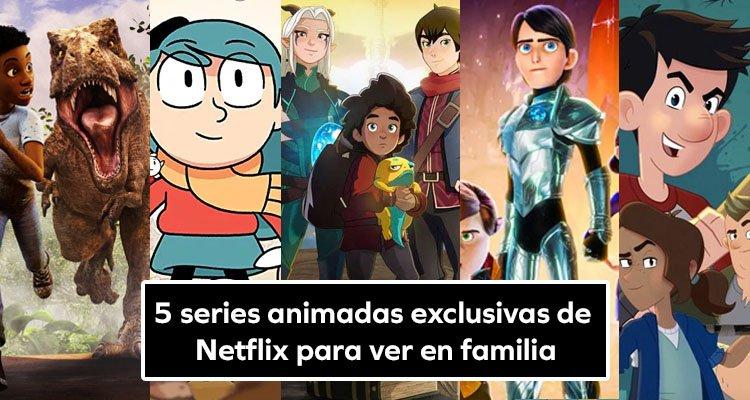 5 series animadas exclusivas de Netflix para ver en familia