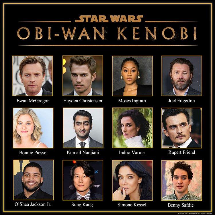 Reparto serie Obi-Wan Kenobi