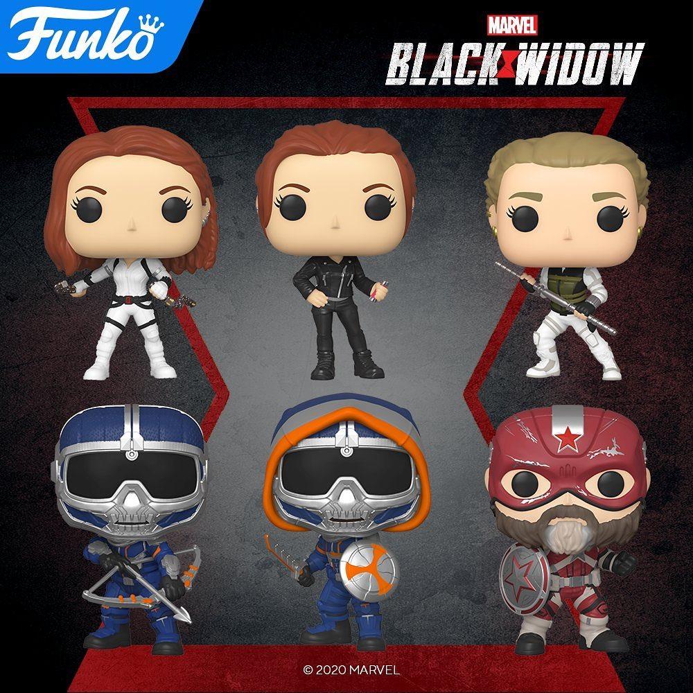 Funkos Black Widow / Viuda Negra