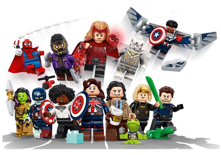 Lego series Marvel´s Disney+