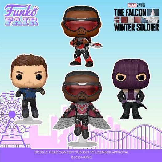 Funkos Falcon y el Soldado de Invierno