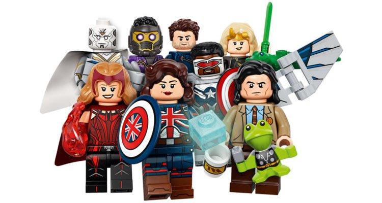 Lego como Novedades merchandising Marvel 2021