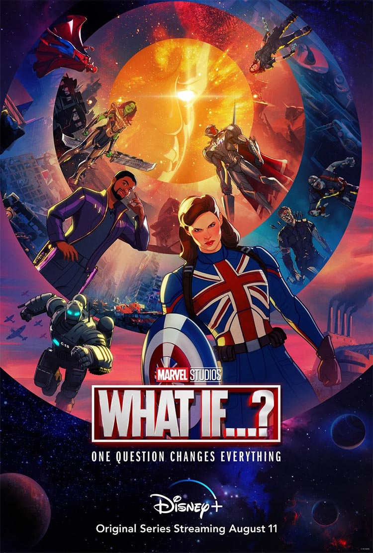 Poster oficial Serie Disney+ What If?