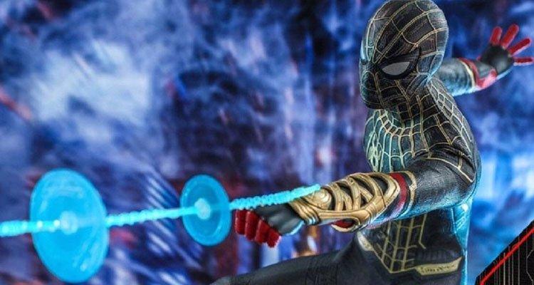 Traje negro Spider-Man en No Way Home