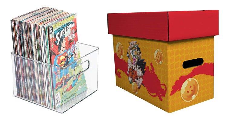 Cajas para cómics