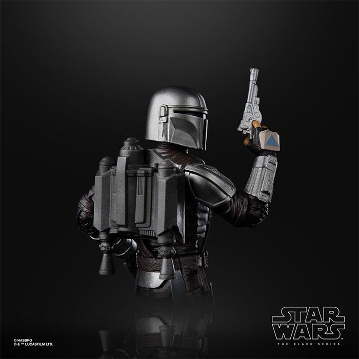 Mochila propulsora y lanzacohetes de Figura Star Wars - The Black Series : The Mandalorian