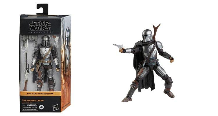 Caja y figura The Mandalorian Star Wars The Black Series