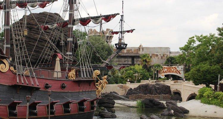 Atracción piratas del caribe