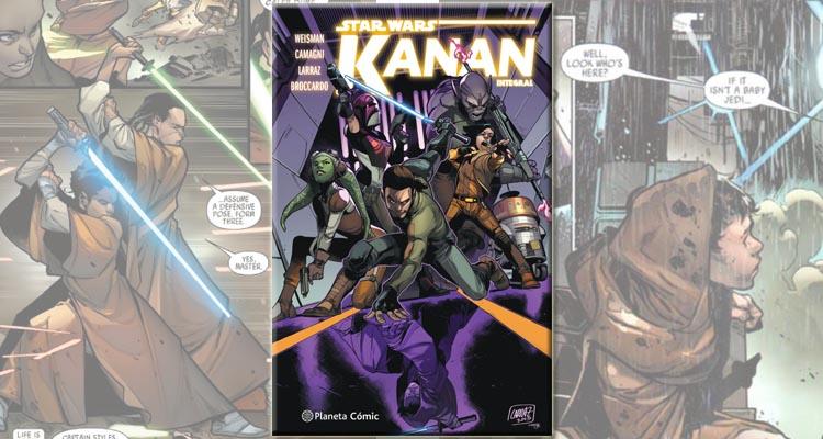 Portada de la edición integral del cómic Star Wars: Kanan