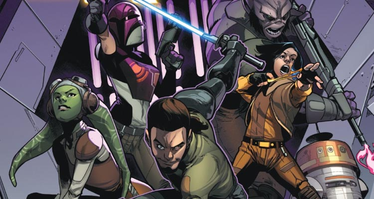 Reseña cómic Star Wars: Kanan Integral