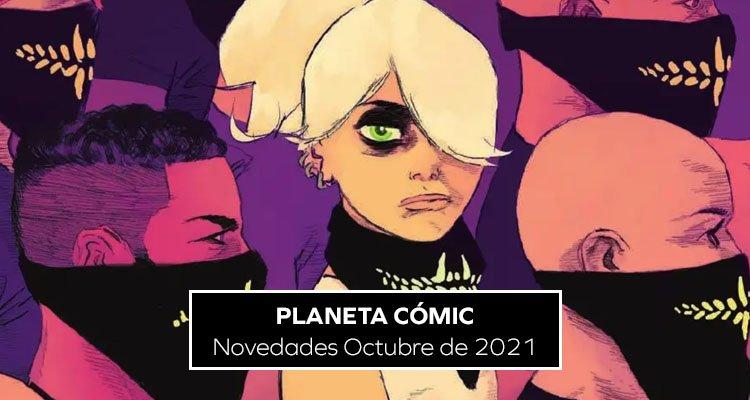 Planeta Cómic: Novedades Octubre 2021