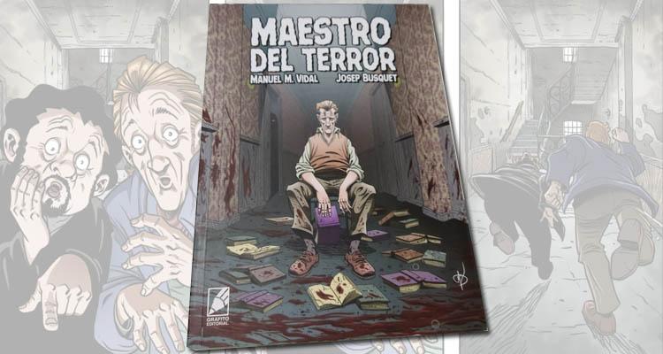 """Reseña Cómic """"Maestro del Terror"""""""