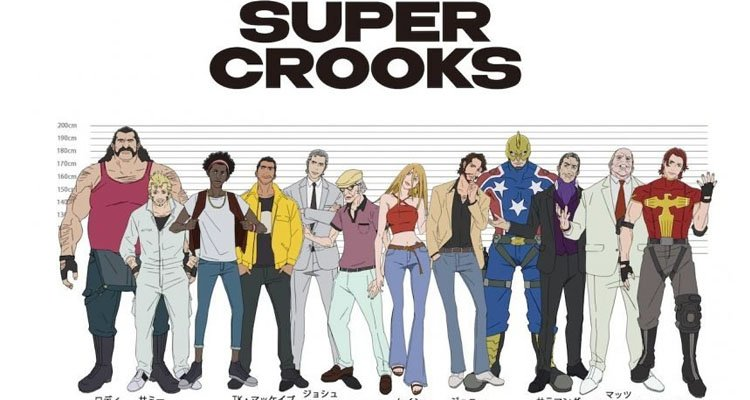 Tráiler de Super Crooks, la serie de Mark Millar en Netflix